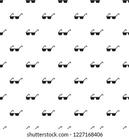 Polycarbonate glasses pattern seamless vector repeat for any web design