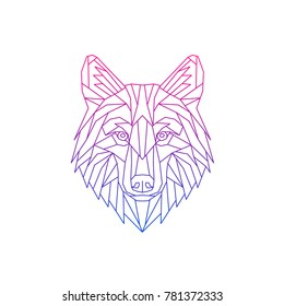 Wolf Face Drawing Images Stock Photos Vectors Shutterstock