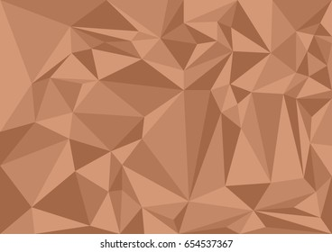 polygon background brown shades