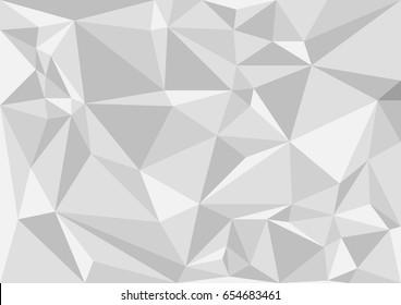polygon background gray shades