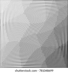 Polygonal abstrac monochrome halftone pattern. Design template vector illustration with dots. Modern dotted background for web sites, sticker labels,postcards,banners, corporate identity, cover design