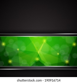 Polygonal background. EPS10 vector