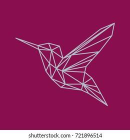 Polygonal geometric colibri