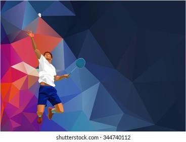 Immagini Foto Stock E Grafica Vettoriale A Tema Low Poly Athlete