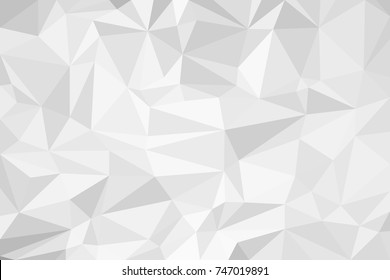 Polygonal gray background. Made in low poly technique