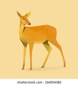 Polygonal Illustration of Doe