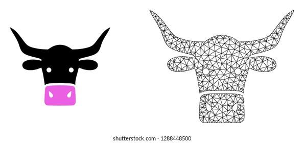 Tete Vache Blanc Noir Stock Vectors Images Vector Art