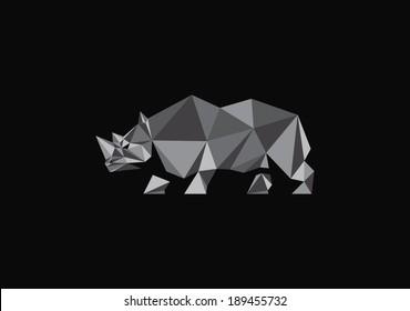 polygonal rhino