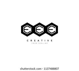 Polygonal Triple E Logo