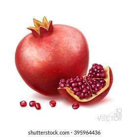 pomegranate or garnet