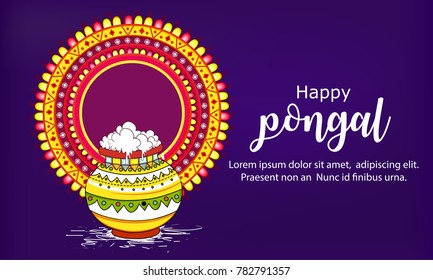Pongal (beautiful background)