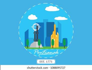 Pontianak, Indonesia: An icon of Pontianak City