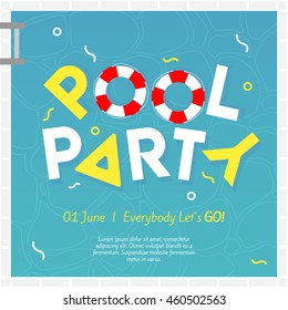 pool party invitation images stock photos vectors shutterstock