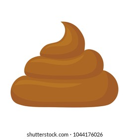 poop vector illustration