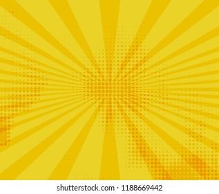 Pop art background.Retro comic rays.Vector illustration.