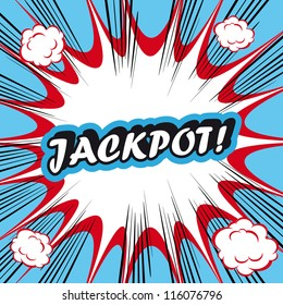 Pop Art explosion Background jackpot!
