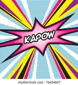 Pop Art KAPOW