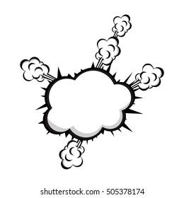 pop art onomatopoeia speech bubble icon image