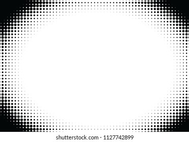 Pop art styled halftone background with dots