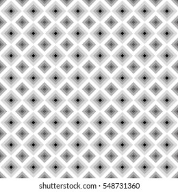 pop square image,gray scale tile - Geometric seamless pattern