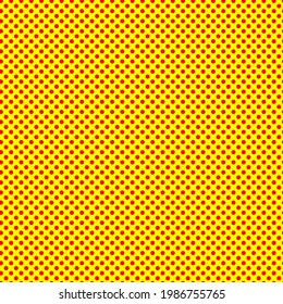 Pop-art, comic effect dotted, dots, circles pattern, background (Geometry is seamlessly repeatable) Lichtenstein, Andy Warhol style abstract background