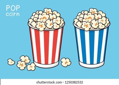 Popcorn bucket boxes