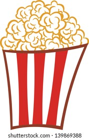 popcorn cartoon images stock photos vectors shutterstock rh shutterstock com Cartoon Shrimp Grilled Cheese Sandwich Clip Art