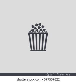 Popcorn. Vector Illustration