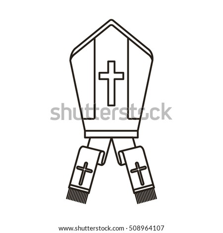 Pope hat icon stock vector royalty free 508964107 shutterstock pope hat icon maxwellsz