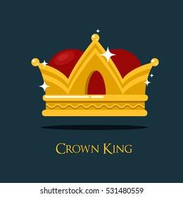 Pope or king crown or tiara.