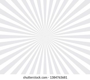 popular abstract white ray star burst background television vintage. Vector illustration