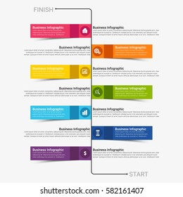 Popular Infographics Elements Vector