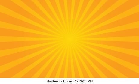 popular orange ray starburst sunburst pattern summer background television vintage 16:9 1920 x 1080 for youtube mobile phone