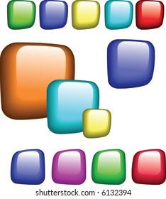 Popular vector buttons