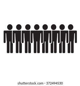 Population People Icon Illustration design