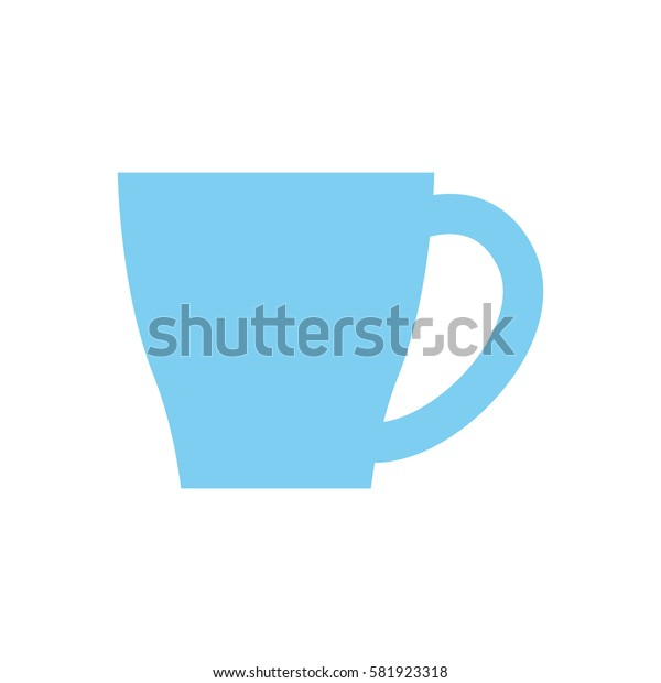 Porcelain mug cup icon vector illustration graphic design