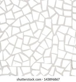 porcelain pieces mosaic background