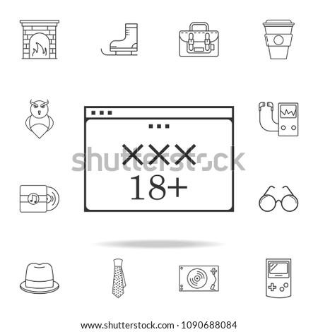 Черный дизайн порно сайта