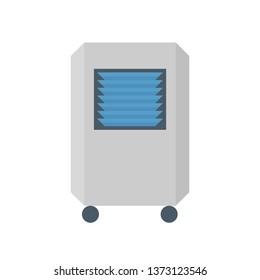 Portable air conditioner icon.