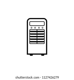 Portable Air Conditioner icon. Clipart image isolated on white background