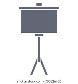 portable whiteboard symbol