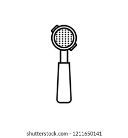 portafilter icon, vector illustration