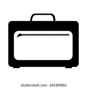 portfolio briefcase isolated icon