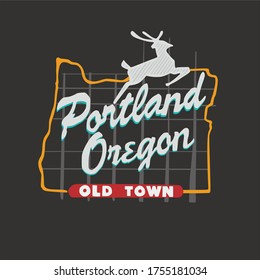 Portland is a town in the state of Oregon. Beautiful and Peaceful city