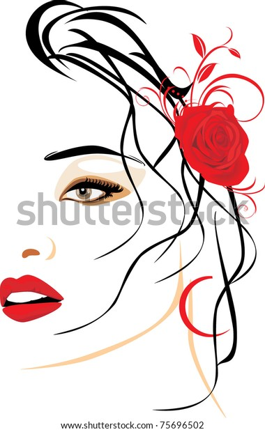 portrait-beautiful-woman-red-rose-600w-7