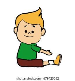 portrait boy grandson person image