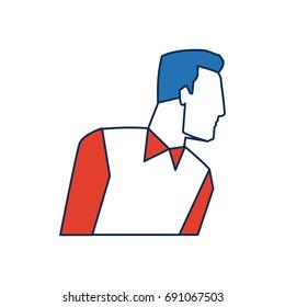 portrait of businessman gesturing person successful work