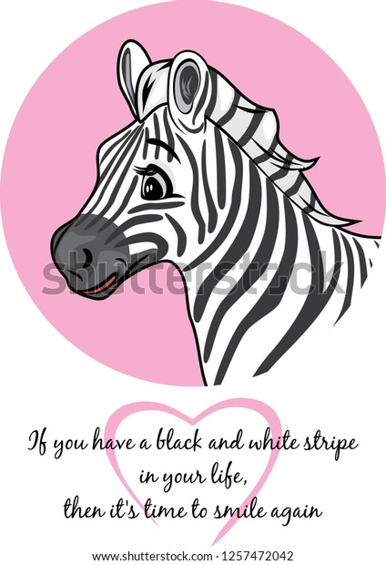 portrait-cute-joyful-zebra-vector-600w-1