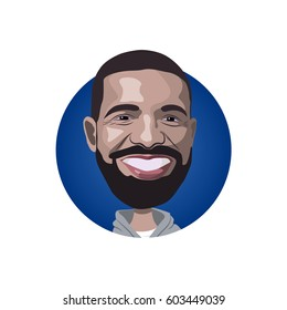 Portrait of Drake icon
