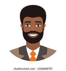 Young Man Dark Hair Smiling Stock Illustrations Images Vectors